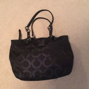 Coach pocketbook - used once. With  dust bag.